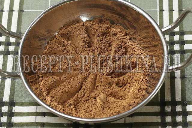 шоколадная глазурь из какао порошка