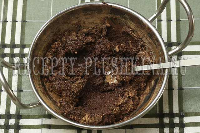 шоколадная глазурь из какао для торта