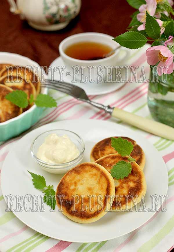 сырники из творога в духовке рецепт