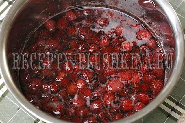 варенье из клубники рецепт на зиму