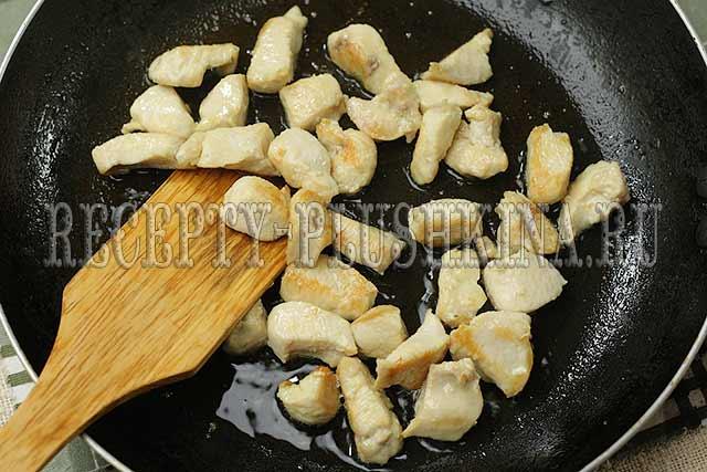 приготовление курицы с гречкой в духовке