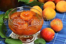 Густое абрикосовое варенье дольками