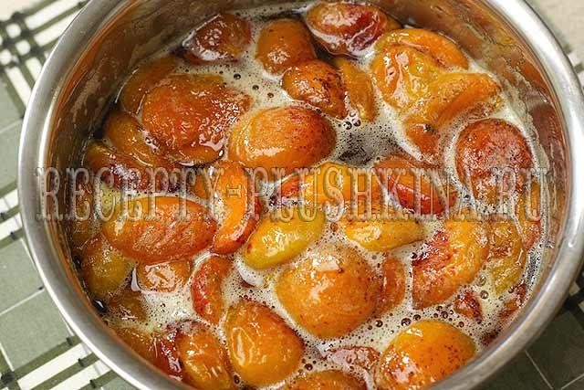 абрикосовое варенье дольками рецепт