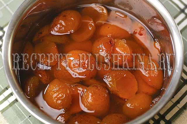 рецепт варенья из абрикосов дольками