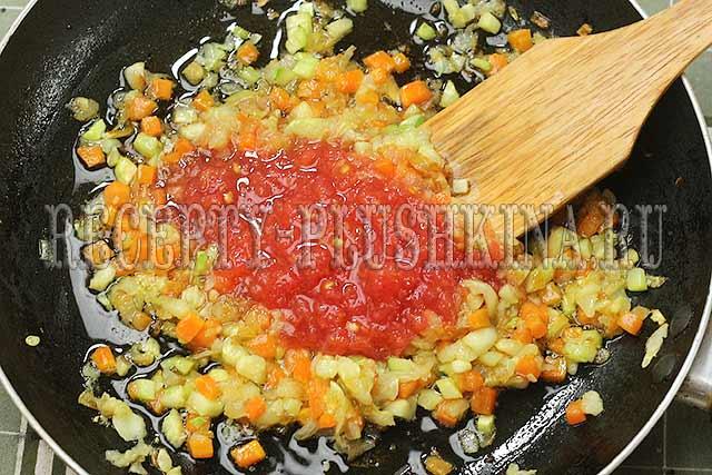 рецепт кабачков с фаршем в духовке