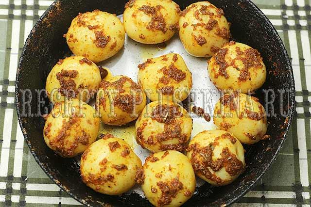 как приготовить молодую картошку в духовке