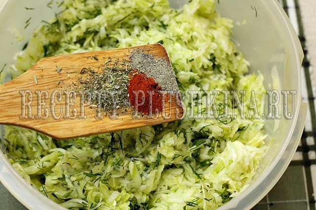 кабачковые оладьи рецепт