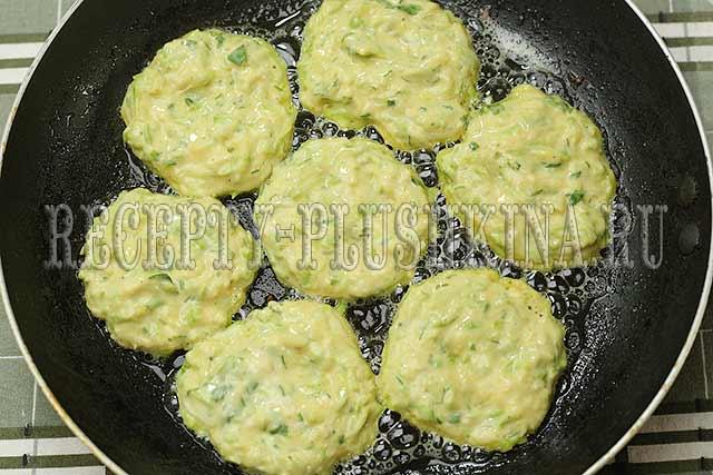кабачковые оладьи с сыром рецепт
