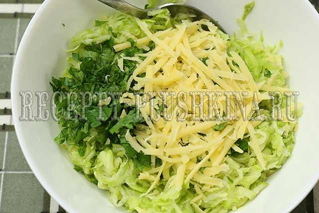 рецепт оладий из кабачков с сыром