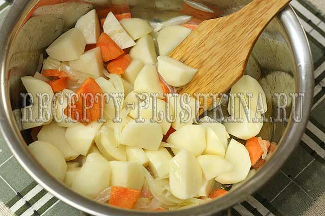 приготовление овощного рагу фото