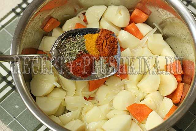 как приготовить вкусное овощное рагу