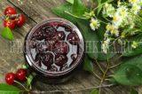 Пятиминутка из вишни с косточками на зиму