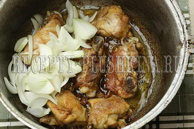 как приготовить рагу с курицей
