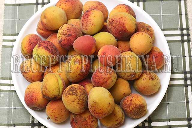 абрикосы для пятиминутки