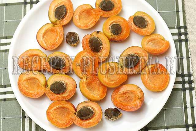 варенье пятиминутка из абрикосов без косточек