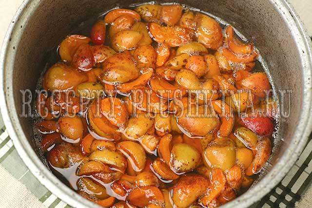 варенье 5-минутка из абрикосов