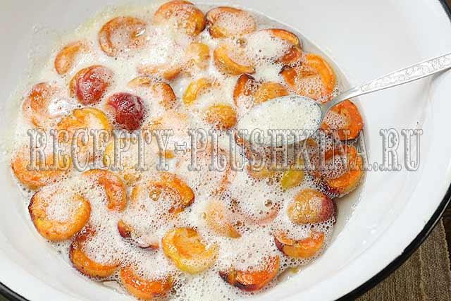 рецепт варенья из абрикосов с косточками