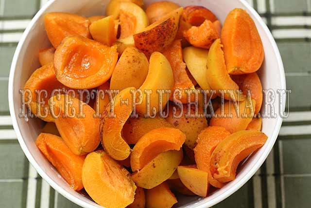 абрикосы для джема