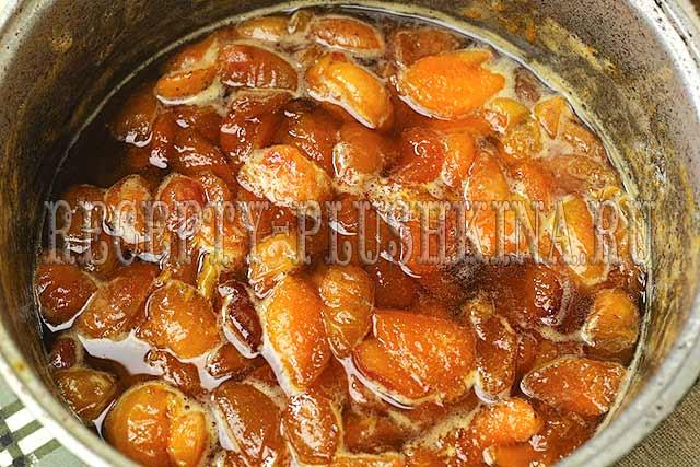 как сварить джем из абрикосов на зиму