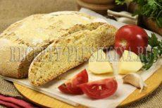 Хлеб из кукурузной и пшеничной муки