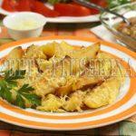картошка с майонезом и чесноком