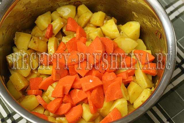 овощное рагу рецепт с фото пошагово