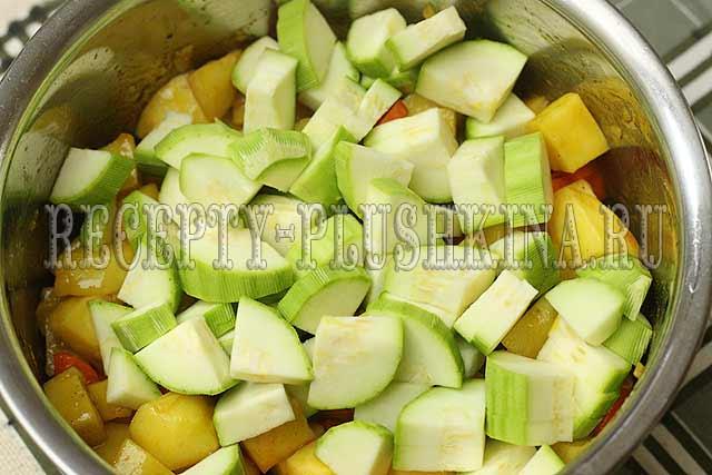 рецепт овощного рагу с фото