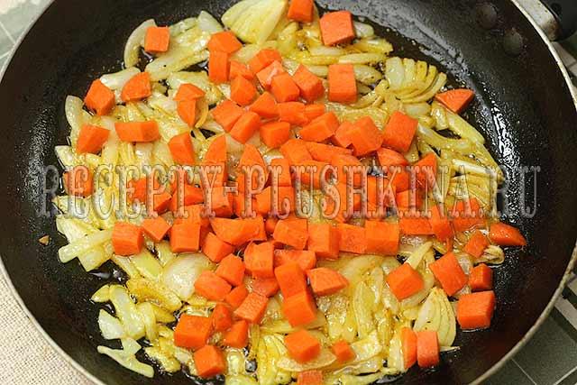 приготовление овощного рагу