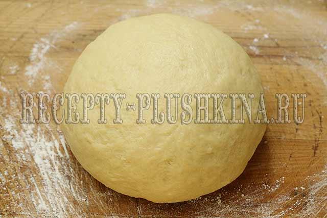 дрожжевое тесто на опаре для пирогов