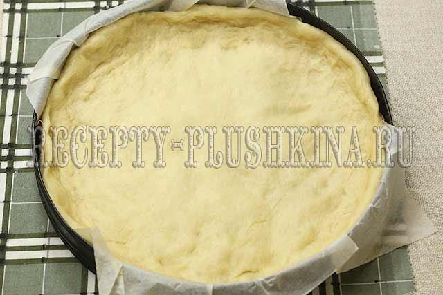 основа для яблочного пирога из дрожжевого теста