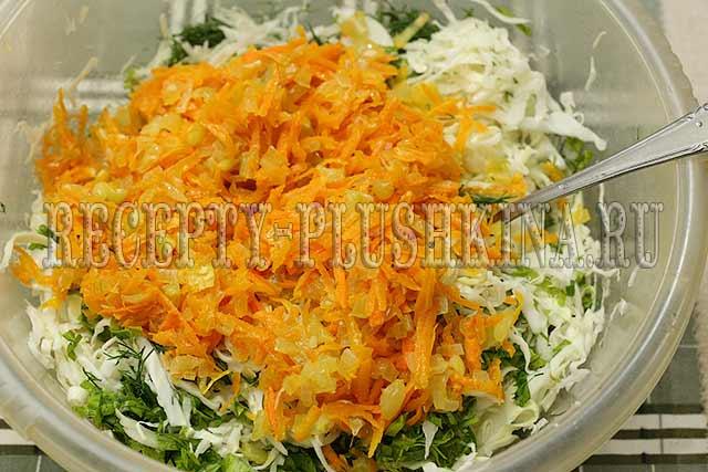 рецепт квашеного перца фаршированного капустой
