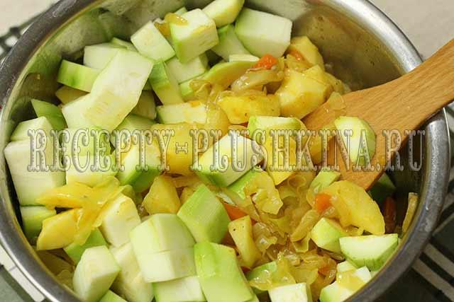 овощное рагу рецепт с пошаговыми фото