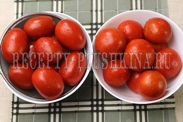 простой рецепт помидоров в собственном соку на зиму