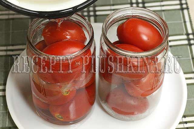 как сделать помидоры в собственном соку без стерилизации