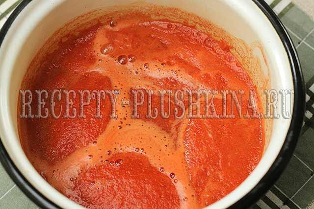 томатный сок для заливки помидор