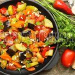 соте из баклажанов и кабачков рецепт