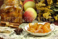 Варенье из яблок дольками