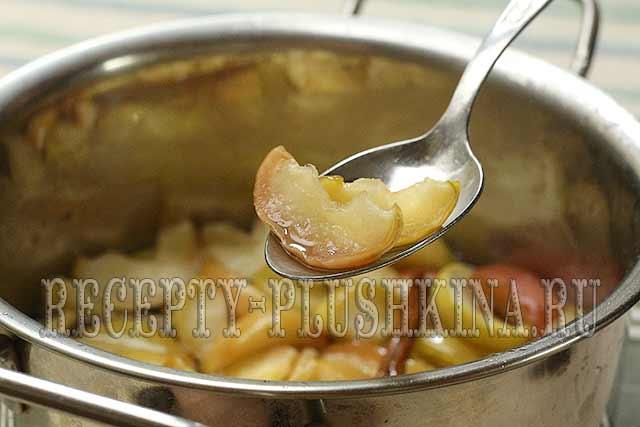 варенье из яблок дольками рецепт с фото