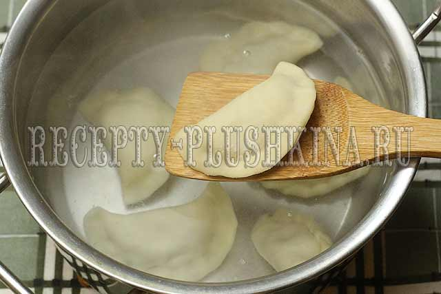как варить вареники с картошкой