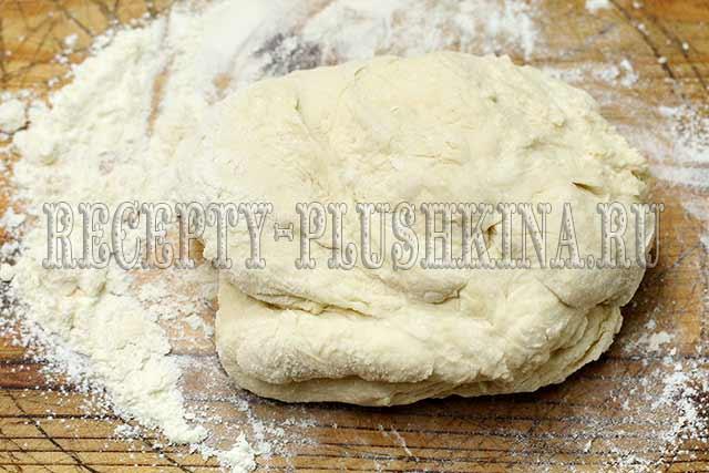 рецепт теста для вареников с картошкой