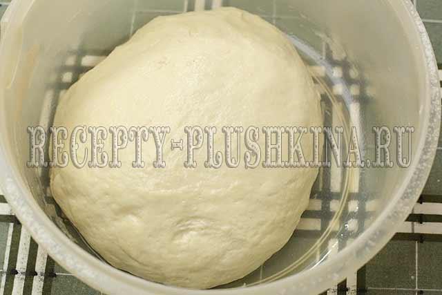 рецепт теста на кефире для жареных пирожков