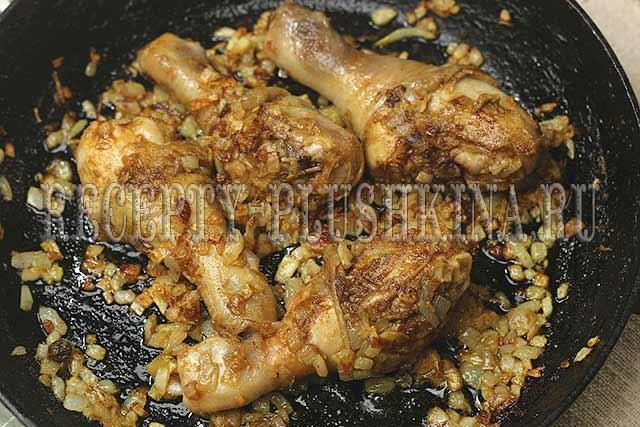 приготовление курицы карри