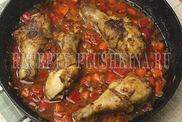 карри с рисом и курицей рецепт