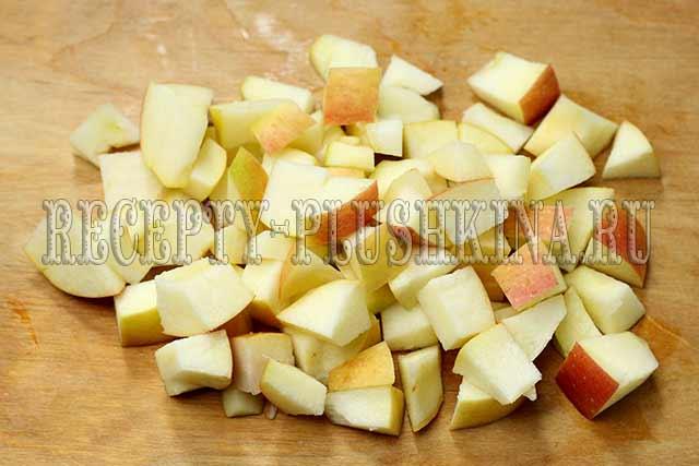 рецепт яблочной начинки для пирожков