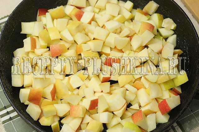 начинка из яблок для пирожков из дрожжевого теста