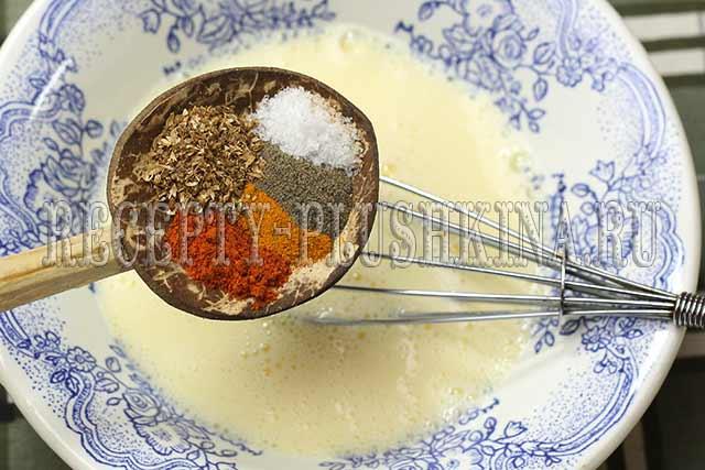 заливной пирог с цветной капустой рецепт