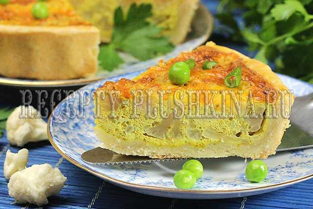 пирог с цветной капустой рецепт