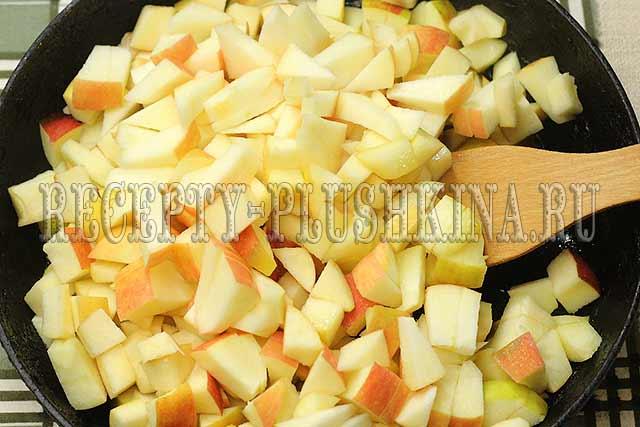 начинка для пирожков с яблоками