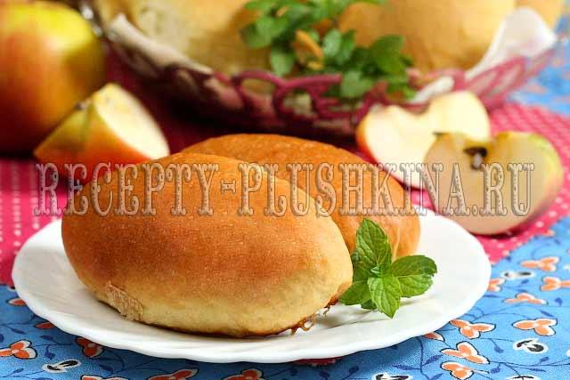 пирожки с яблоками, 2- пирожки с яблоками рецепт с фото