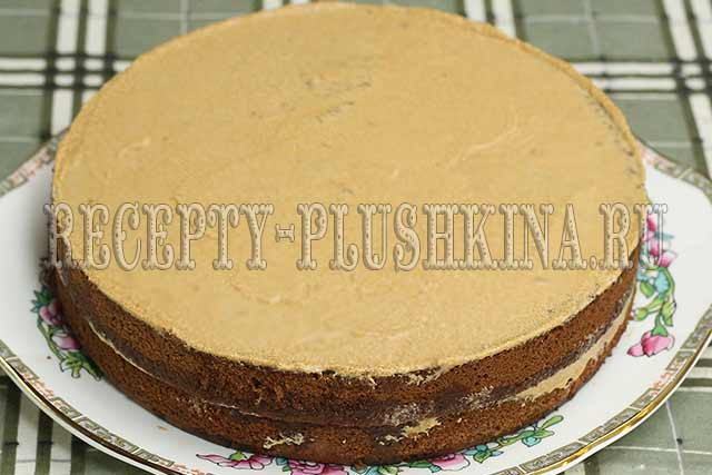 шоколадный торт пошаговый рецепт с фото